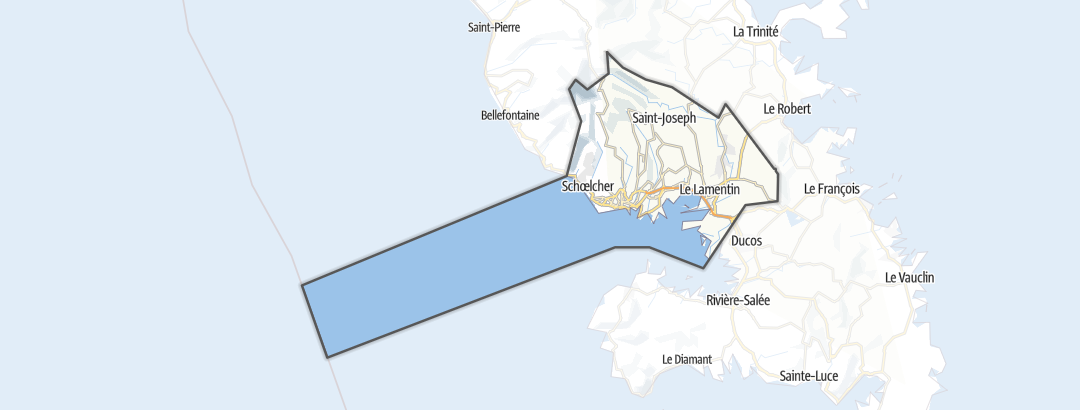 Térkép / Fort-de-France