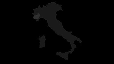 Karte / Die Alpen von Cuneo und die Hügel von Langhe Monferrato Roero