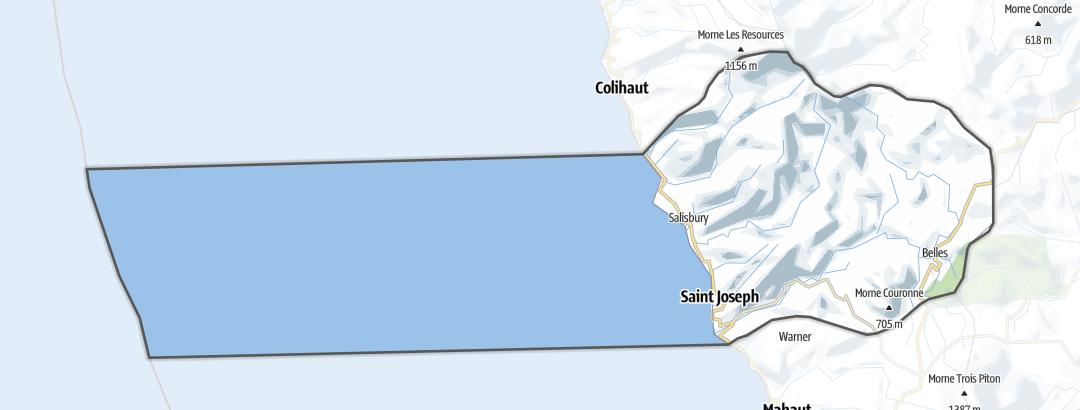 Map / Saint Joseph