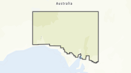 Térkép / Flinders Ranges and Outback