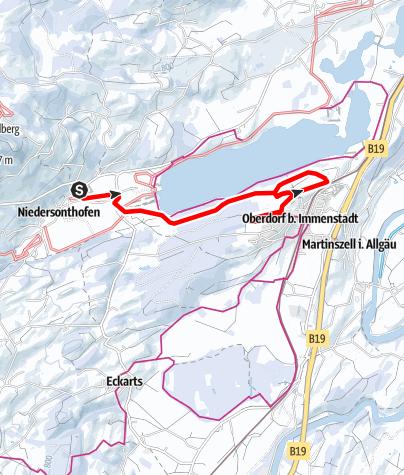 Karte / Panorama See-Winterwanderweg