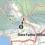 Hartă / Botanična pot Lovrenca Willomitzerja