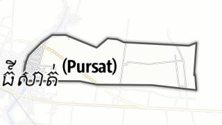 Karte / Banteay Dei