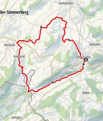 Karte / Oberreute-Rundtour