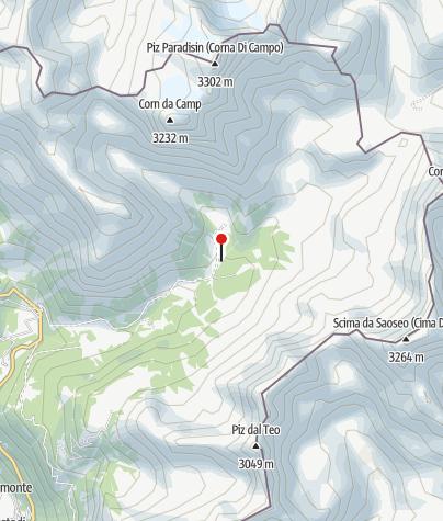 Karte / Saoseohütte