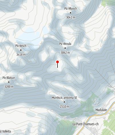 Karte / Chamanna d Es-cha