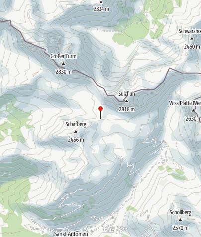 Karte / Carschinahütte