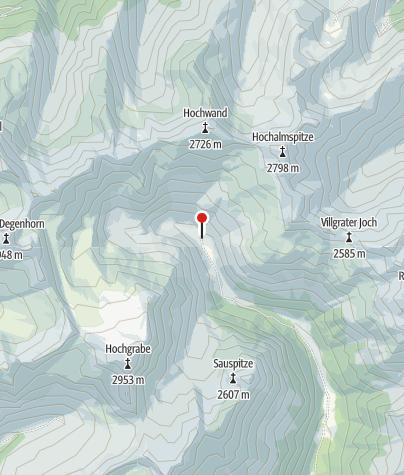 Karte / Volkzeiner Hütte