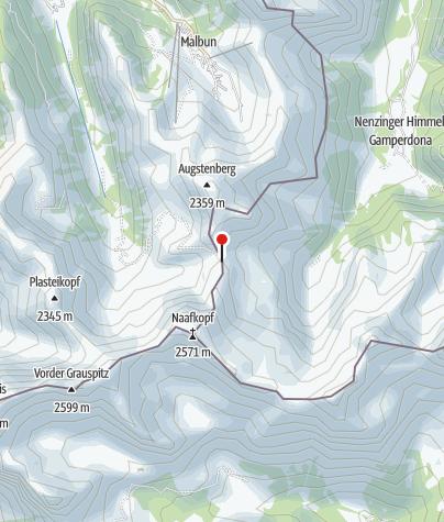 Karte / Pfälzerhütte
