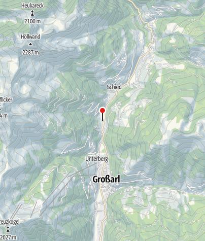 Karte / Aualm - Aubauernhof