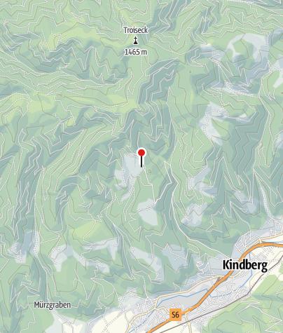 Karte / Alpengasthof-Skilifte Pölzl