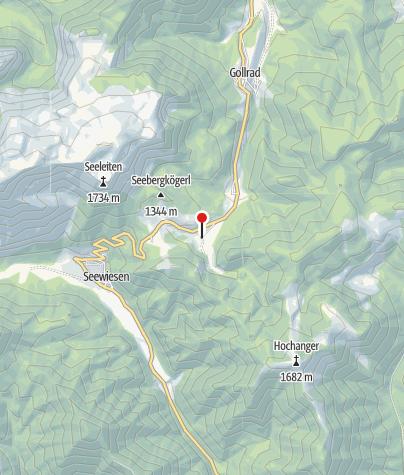 Karte / Almgasthof Seebergalm