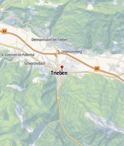 Karte / Gasthof Triebenerhof