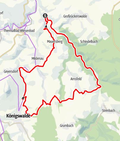 Karte / Annaberger Landring (Nordring)