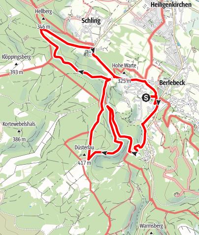 Karte / Die kleinen und großen Helden der Lüfte - Adlerwarte und Vogelpark