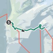 Karte / Übergang Johannishütte zur Eisseehütte