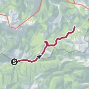 Karte / Kirchenweg von Rothwald nach Neuhaus und zurück