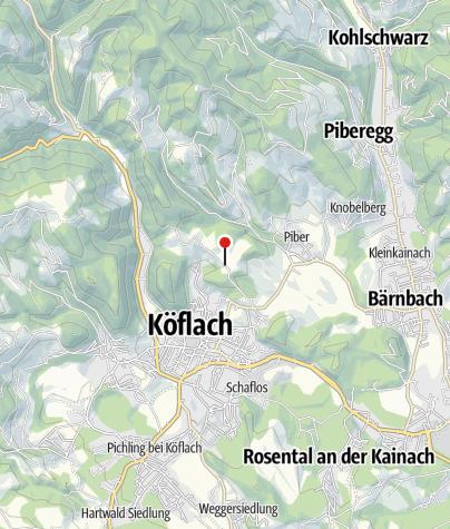 Karte / Außenhof Wilhelm - Lipizzanergestüt Piber