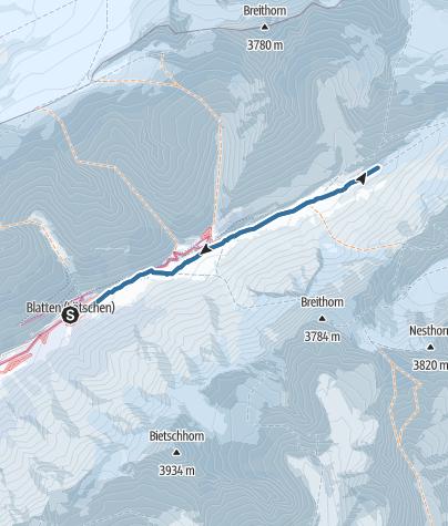 Map / Langgletschertor
