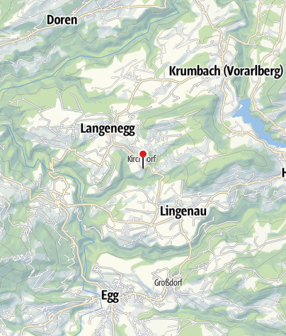 Karte / Langenegg, Katholische Pfarrkirche Unsere Liebe Frau Mariä Heimsuchung