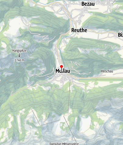 Karte / Mellau, Katholische Pfarrkirche Heiliger Antonius Eremit