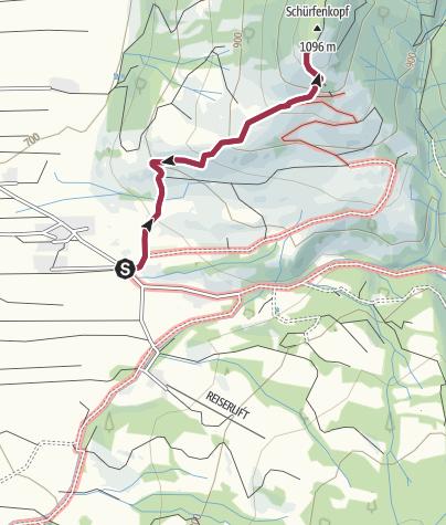 Karte / Ganzjahrestour zu den Sonntraten