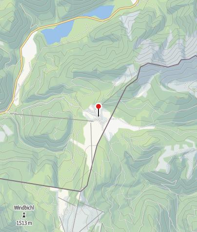 Karte / Winklmoosalm (1160m) - DAV Sektion Oberland
