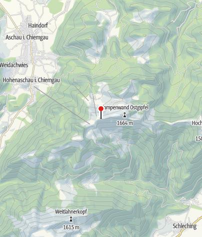 Karte / Kampenwandhütte (1550 m) - DAV Sektion München