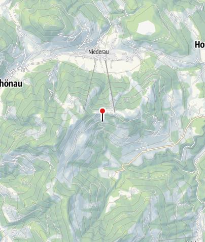 Karte / Dr.-Erich-Berger-Hütte (1340m) - DAV Sektion München