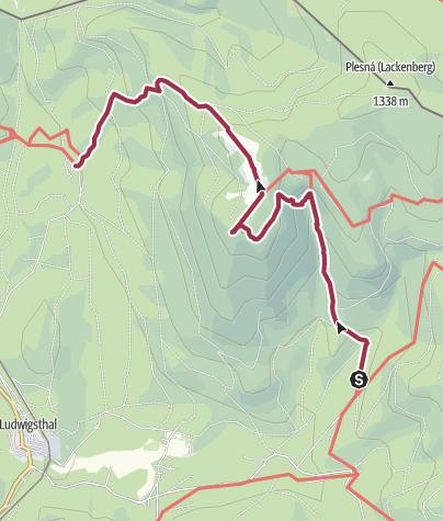 Karte / Über den Falkenstein