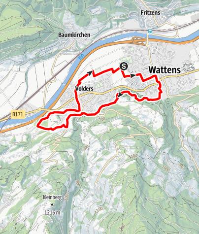 Karte / Historischer Rundlauf
