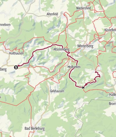 Sauerland Karte Deutschland.Hochsauerland Kammweg Wanderung Outdooractive Com