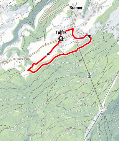 Karte / Speckbacherrunde