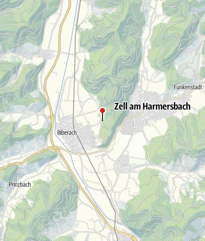 Karte / Waldterrassenbad Biberach