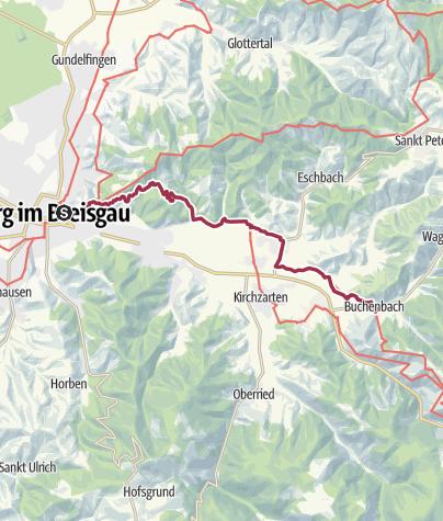 Karte / Querweg Etappe 1