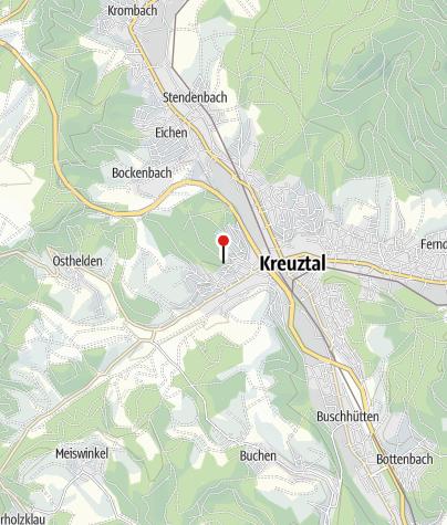 Karte / Historischer Hauberg Fellinghausen
