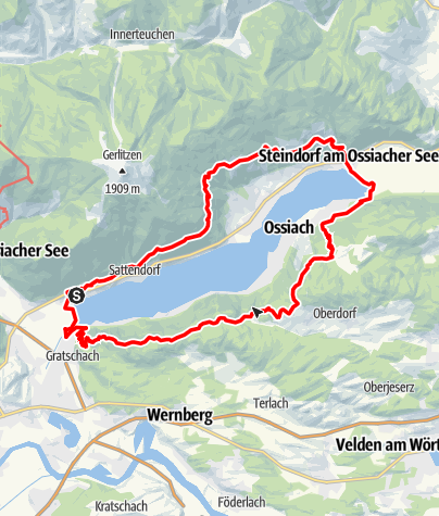 Map / Lake Ossiach Trail