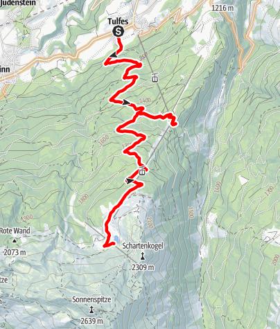 Map / Tulfeinalm