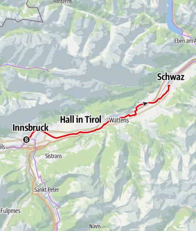 Map / Innradweg