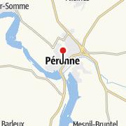 Mappa / Historial de la Grande Guerre - Péronne