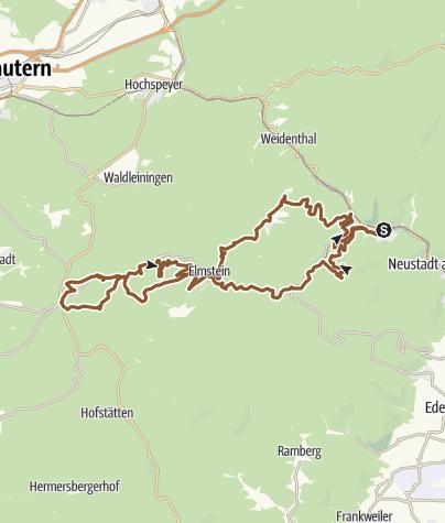 Karte / Lambrecht Tour 5