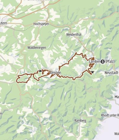 Map / Lambrecht Tour 5