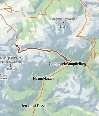 Canazei - Campitello - Val Duron • Mountain Bike » outdooractive.com