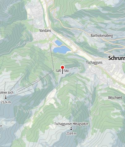 Karte / Tschagguns, Katholische Filialkirche Verklärung Jesu