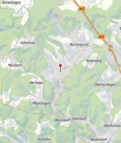 Karte / Alter Flecken / Historischer Stadtkern Freudenberg