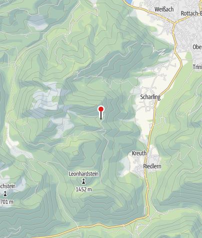 Karte / Gründhütte (1195m) - DAV Sektion Oberland