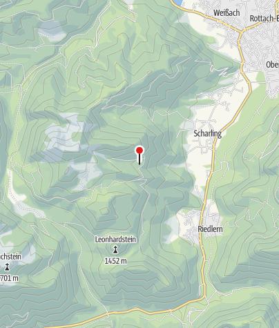 Map / Gründhütte (1195m) - DAV Sektion Oberland