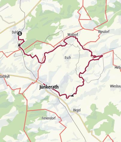 Karte / GPS-Tour: EifelBahnSteig 10. Etappe: Von Dahlem nach Jünkerath