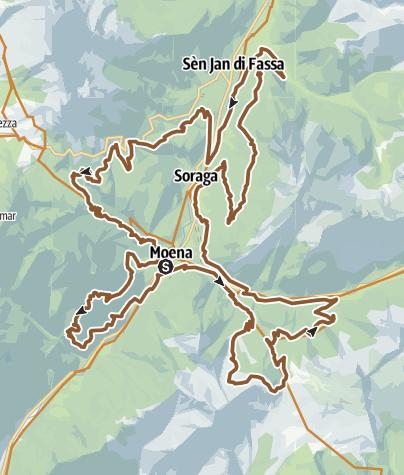 Val di Fassa Marathon • Mountain Bike » outdooractive.com