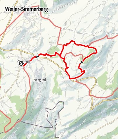 Karte / Von Oberreute über den Katzensteig